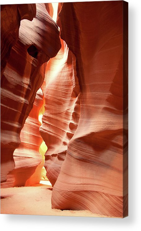 Toughness Acrylic Print featuring the photograph Slot Canyon by Colin Sands