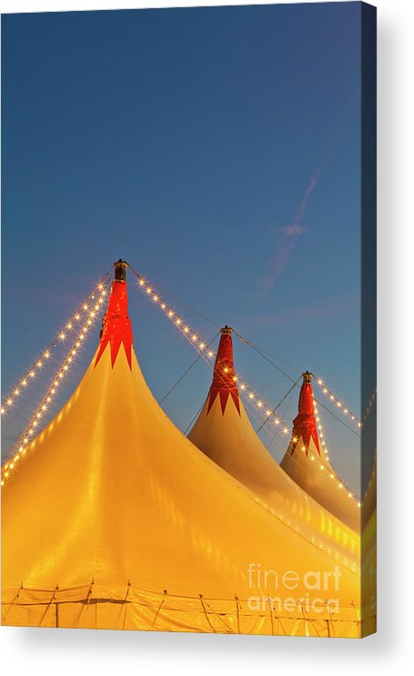 Circus Tent Acrylic Print featuring the photograph Germany, Baden Wuerttemberg, Stuttgart by Westend61