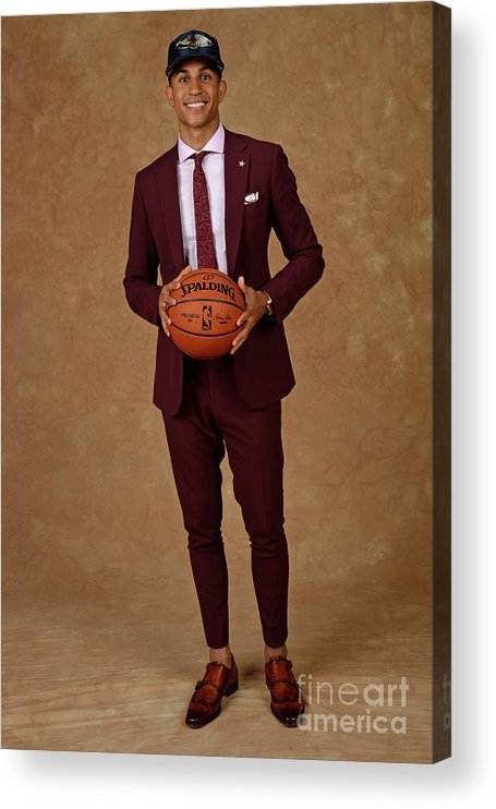 Nba Pro Basketball Acrylic Print featuring the photograph 2017 Nba Draft by Jennifer Pottheiser