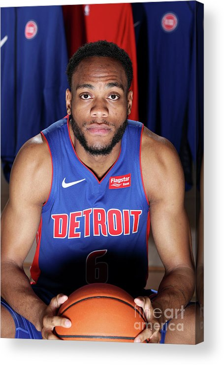 Nba Pro Basketball Acrylic Print featuring the photograph 2018 Nba Rookie Photo Shoot by Nathaniel S. Butler