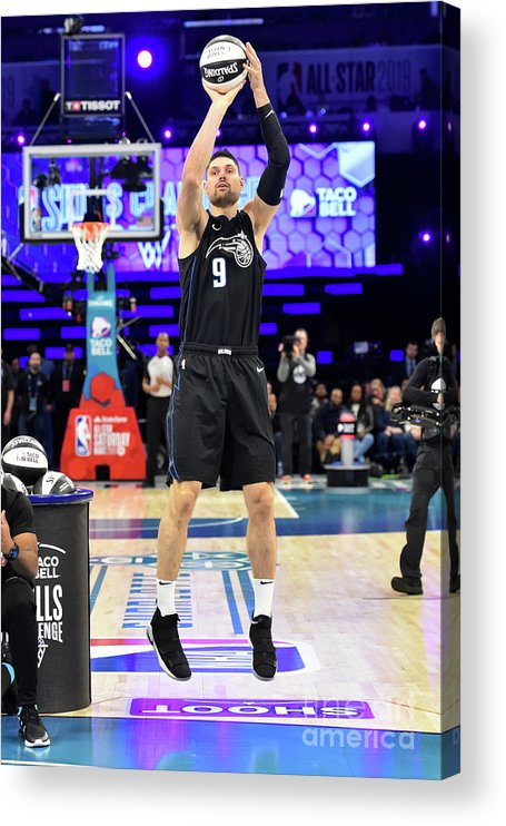 Nba Pro Basketball Acrylic Print featuring the photograph 2019 Taco Bell Skills Challenge by Jesse D. Garrabrant
