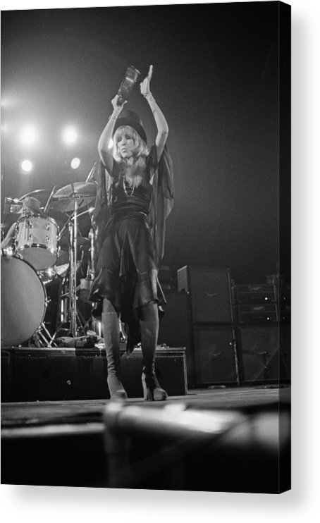 Singer Acrylic Print featuring the photograph Fleetwood Mac by Fin Costello