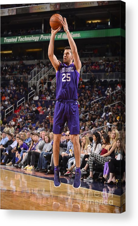 Nba Pro Basketball Acrylic Print featuring the photograph La Clippers V Phoenix Suns by Barry Gossage