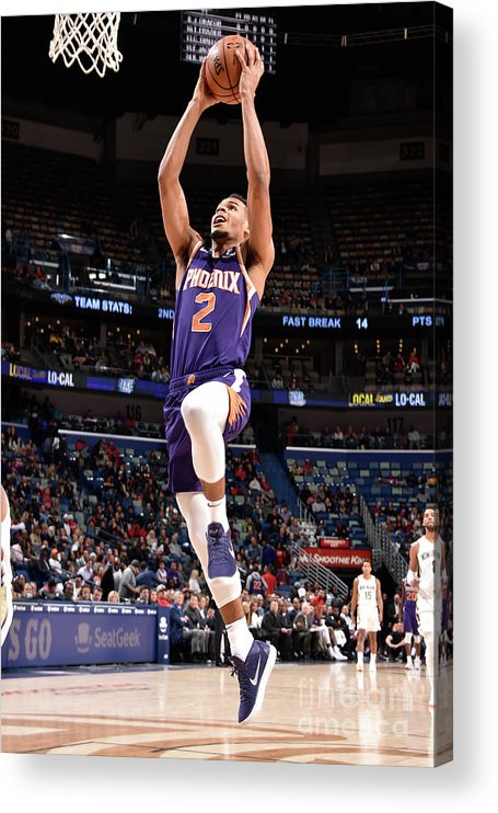 Smoothie King Center Acrylic Print featuring the photograph Phoenix Suns V New Orleans Pelicans by Bill Baptist