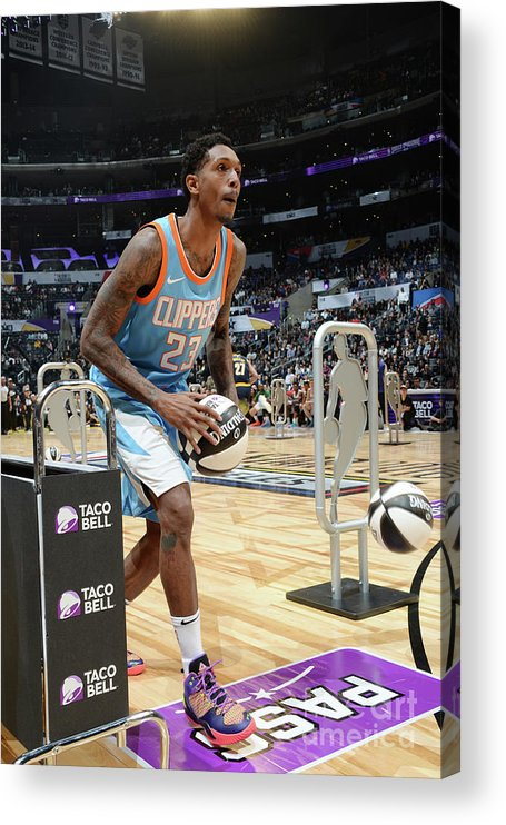 Event Acrylic Print featuring the photograph Taco Bell Skills Challenge 2018 by Andrew D. Bernstein