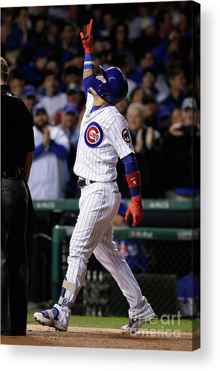 Championship Acrylic Print featuring the photograph League Championship Series - Los by Jamie Squire