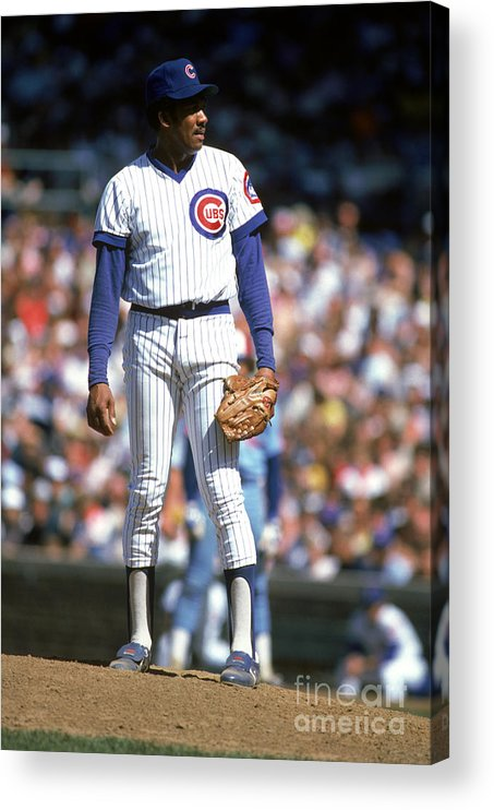 1980-1989 Acrylic Print featuring the photograph Mlb Photos Archive by Rich Pilling
