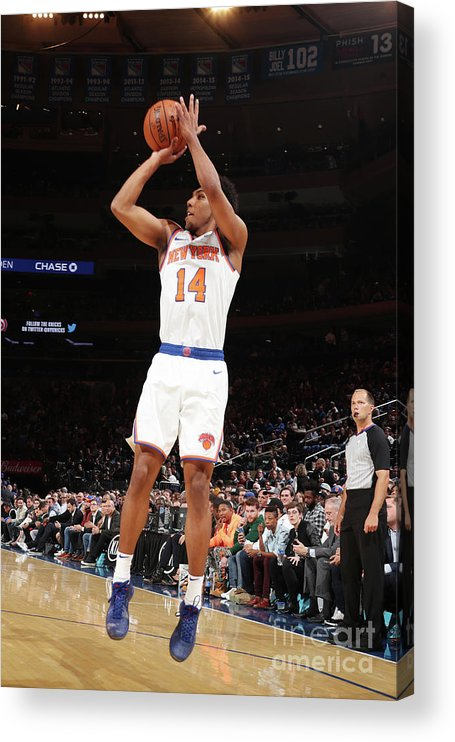 Event Acrylic Print featuring the photograph Atlanta Hawks V New York Knicks by Nathaniel S. Butler