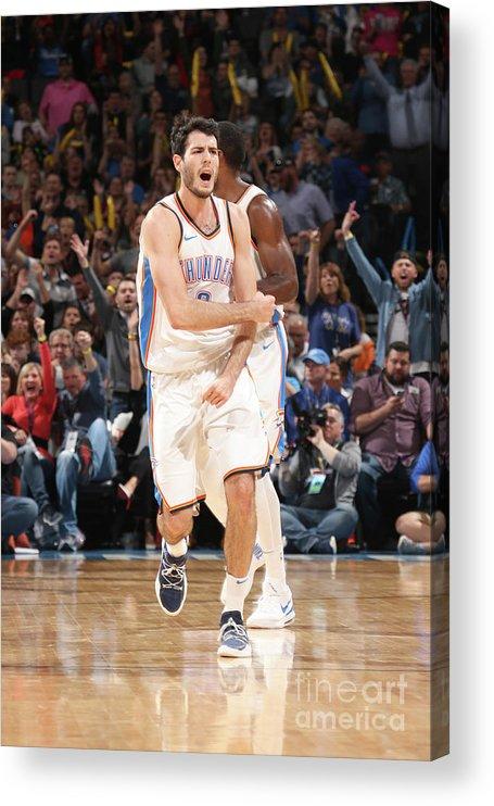 Basketball Acrylic Print featuring the photograph Denver Nuggets V Oklahoma City Thunder by Layne Murdoch