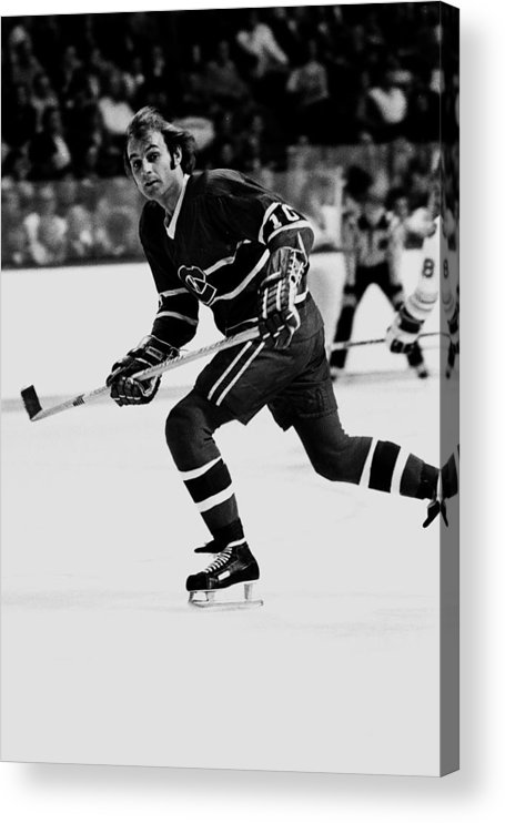 National Hockey League Acrylic Print featuring the photograph Montreal Canadiens V Boston Bruins by Steve Babineau