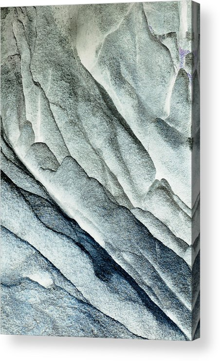 Built Structure Acrylic Print featuring the photograph Rocky Background by John Foxx