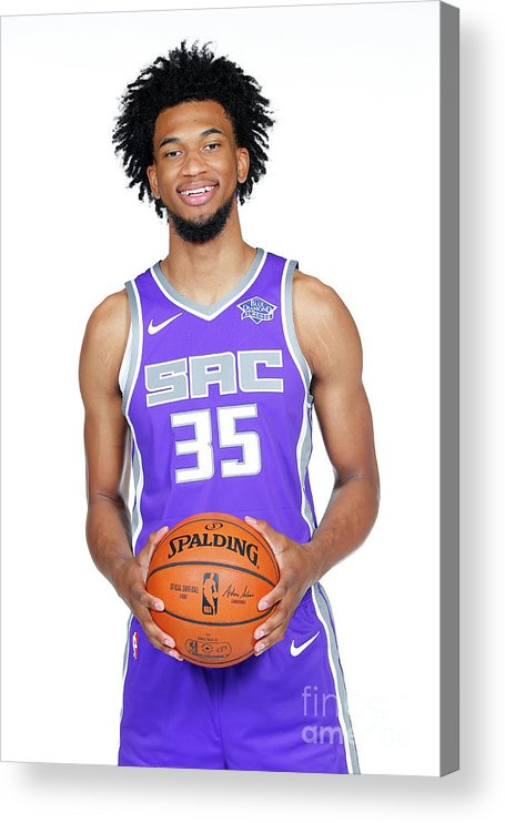 Media Day Acrylic Print featuring the photograph 2018-19 Sacramento Kings Media Day by Rocky Widner