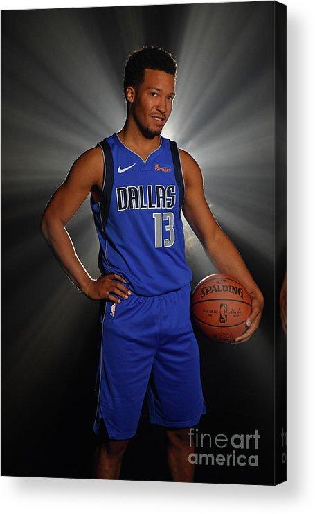 Nba Pro Basketball Acrylic Print featuring the photograph 2018 Nba Rookie Photo Shoot by Jesse D. Garrabrant