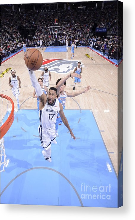 Nba Pro Basketball Acrylic Print featuring the photograph Memphis Grizzlies V Sacramento Kings by Rocky Widner