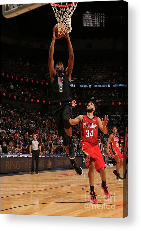 Moe Harkless Acrylic Print featuring the photograph La Clippers V New Orleans Pelicans by Layne Murdoch Jr.