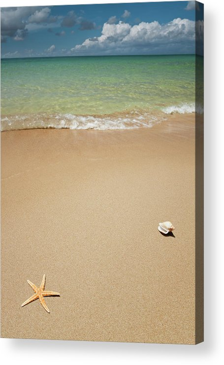Empty Acrylic Print featuring the photograph Beach by Ugurhan