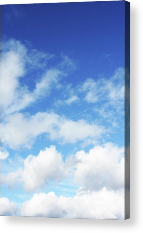 Backdrop Acrylic Print featuring the photograph Big Blue Sky by Lpettet