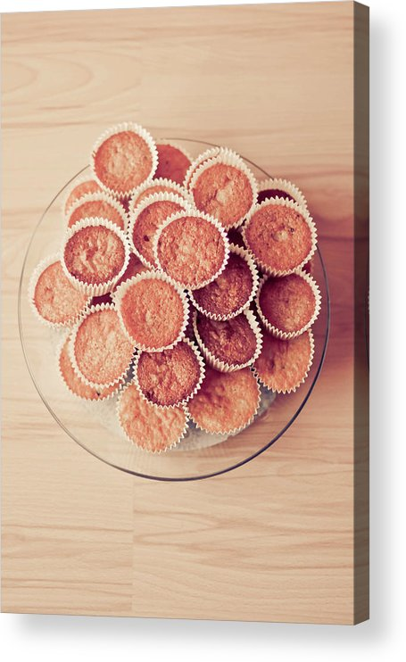 Temptation Acrylic Print featuring the photograph Cupcakes by Del Sool Fotografia