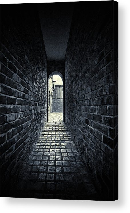 Horror Acrylic Print featuring the photograph Dark Alley by Duncan1890