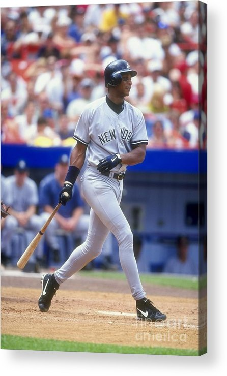 People Acrylic Print featuring the photograph Darryl Strawberry 39 by David Seelig