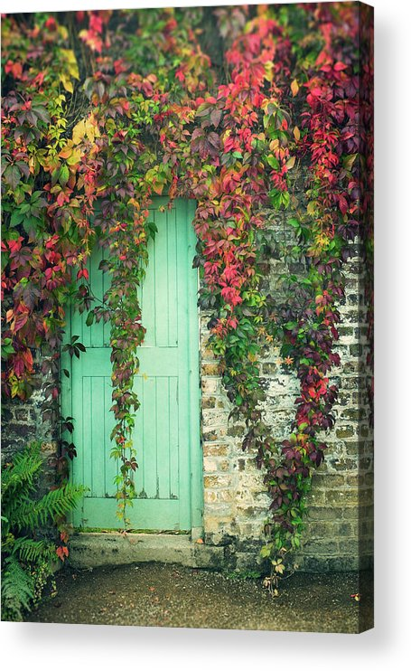 Tranquility Acrylic Print featuring the photograph Door To The Secret Garden by Image By Catherine Macbride