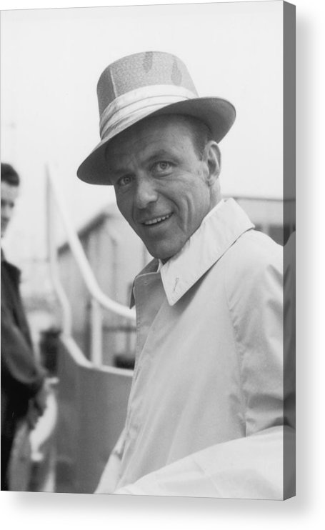 Singer Acrylic Print featuring the photograph Frank Sinatra by J. Wilds