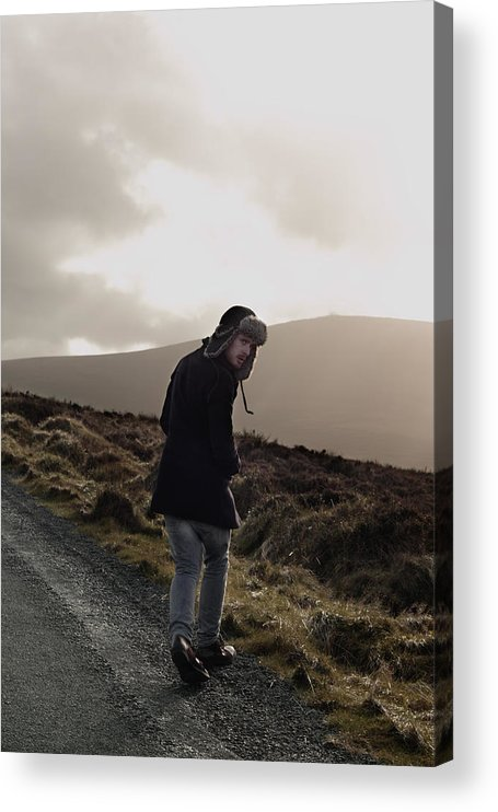 Dublin Acrylic Print featuring the photograph Journey by Ruth Maria Murphy