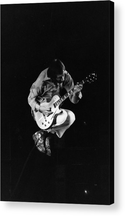 Rock Music Acrylic Print featuring the photograph Jumping Townshend by Evening Standard