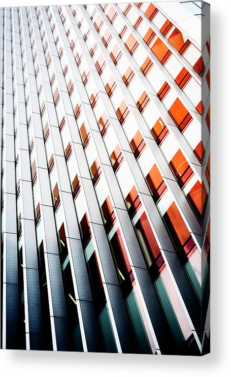 Apartment Acrylic Print featuring the photograph Metal Architecture by Subman