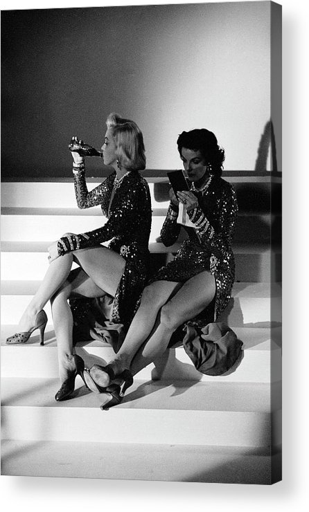 Timeincown Acrylic Print featuring the photograph Monroe & Russell by Ed Clark