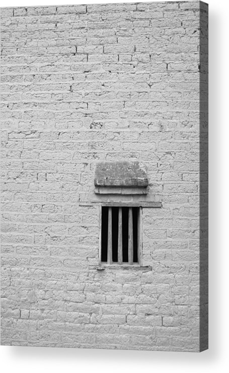 Toughness Acrylic Print featuring the photograph Old Prison by Blackred