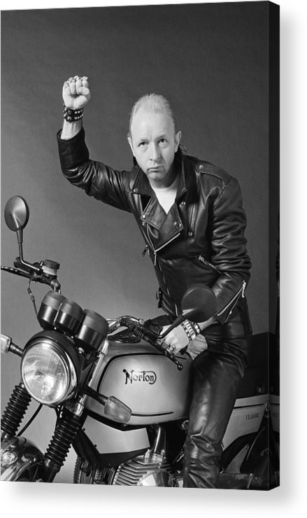 Heavy Metal Acrylic Print featuring the photograph Rob Halford by Fin Costello