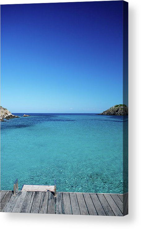 Scenics Acrylic Print featuring the photograph Sea by Cactusoup