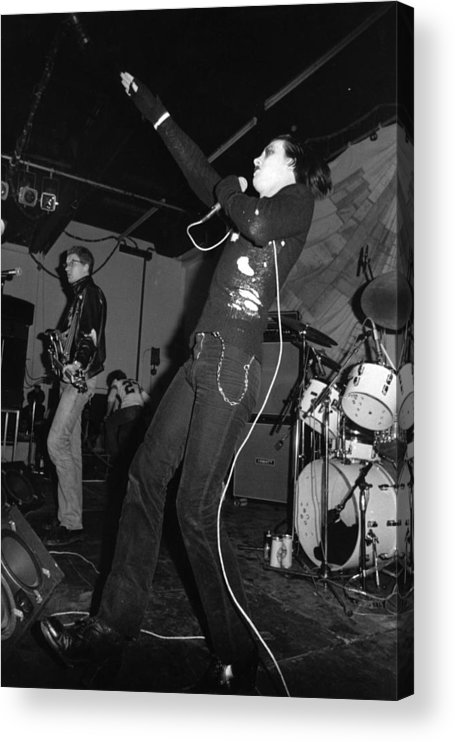 Concert Acrylic Print featuring the photograph The Damned by Graham Wood