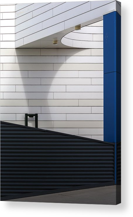 Parking Acrylic Print featuring the photograph To Parking Deck by Theo Luycx