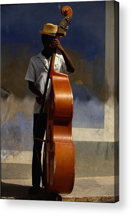 Straw Hat Acrylic Print featuring the photograph Trinidad In Cuba by Buena Vista Images