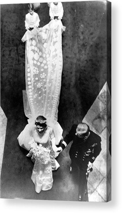Child Acrylic Print featuring the photograph Wedding Train by Keystone