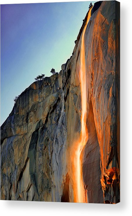 Tranquility Acrylic Print featuring the photograph Yosemite Firefall by Provided By Jp2pix.com