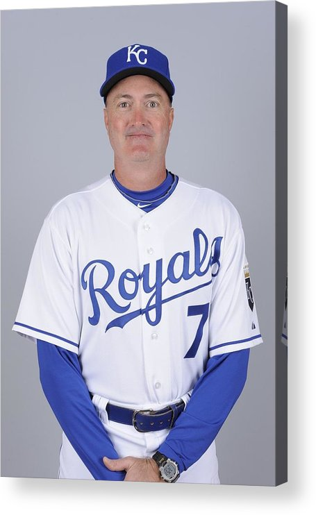 Media Day Acrylic Print featuring the photograph 2010 Major League Baseball Photo Day by Ron Vesely