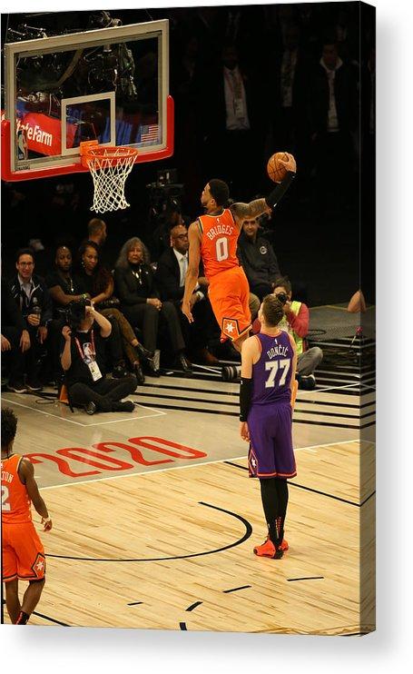 Nba Pro Basketball Acrylic Print featuring the photograph 2020 NBA All-Star - Rising Stars Game by David Sherman