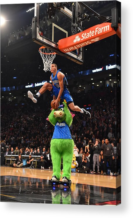 Event Acrylic Print featuring the photograph Aaron Gordon by Jesse D. Garrabrant