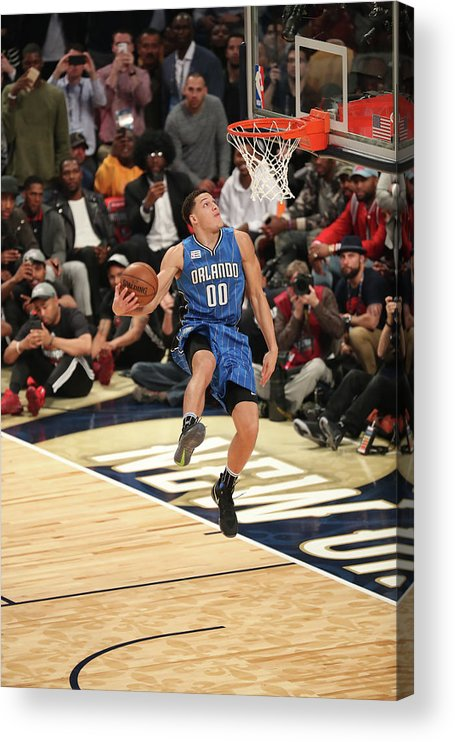 Event Acrylic Print featuring the photograph Aaron Gordon by Joe Murphy