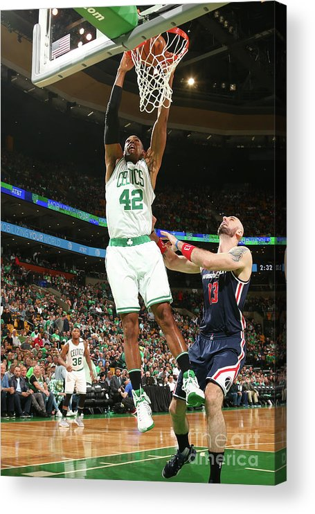 Playoffs Acrylic Print featuring the photograph Al Horford by Ned Dishman
