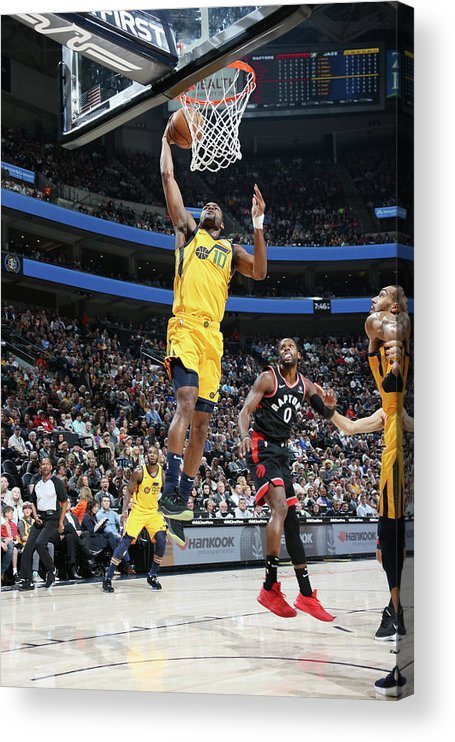 Nba Pro Basketball Acrylic Print featuring the photograph Alec Burks by Melissa Majchrzak