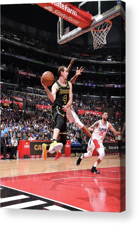 Sports Ball Acrylic Print featuring the photograph Alex Caruso by Adam Pantozzi