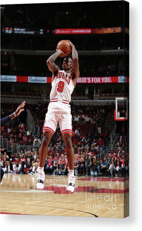 Nba Pro Basketball Acrylic Print featuring the photograph Antonio Blakeney by Gary Dineen