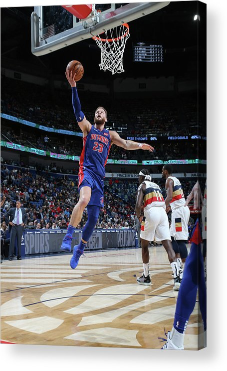 Smoothie King Center Acrylic Print featuring the photograph Blake Griffin by Layne Murdoch Jr.