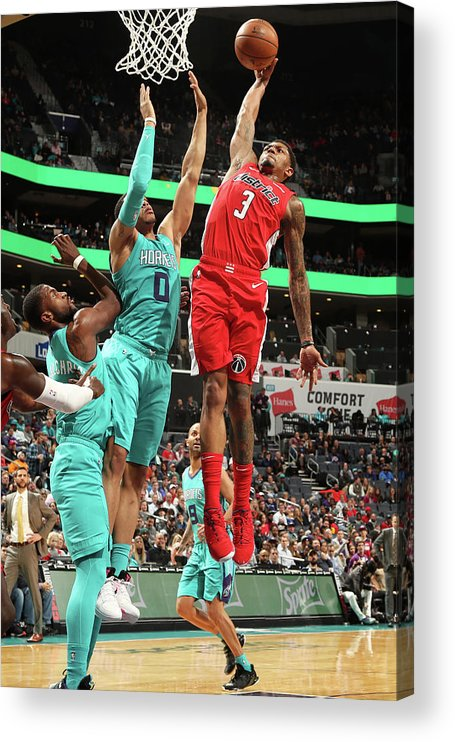 Nba Pro Basketball Acrylic Print featuring the photograph Bradley Beal by Kent Smith