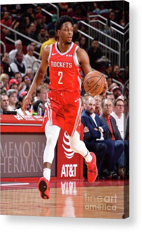 Nba Pro Basketball Acrylic Print featuring the photograph Brandon Knight by Bill Baptist