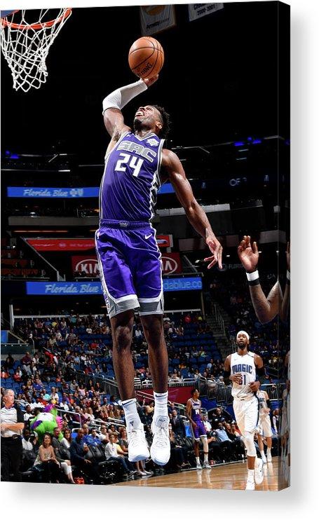 Nba Pro Basketball Acrylic Print featuring the photograph Buddy Hield by Fernando Medina